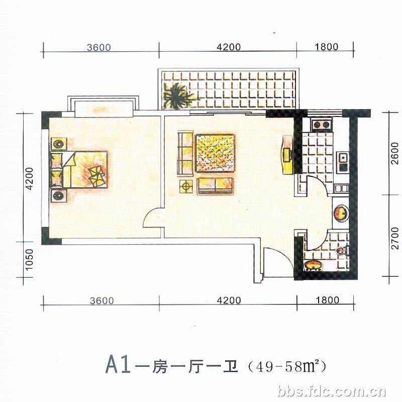 50平方小户型的楼中楼装修设计