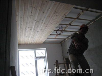 杉木板吊顶贴图