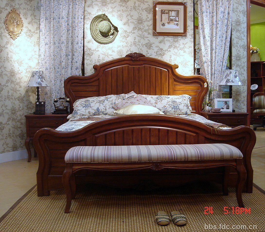 美式乡村风格的家具上图片了