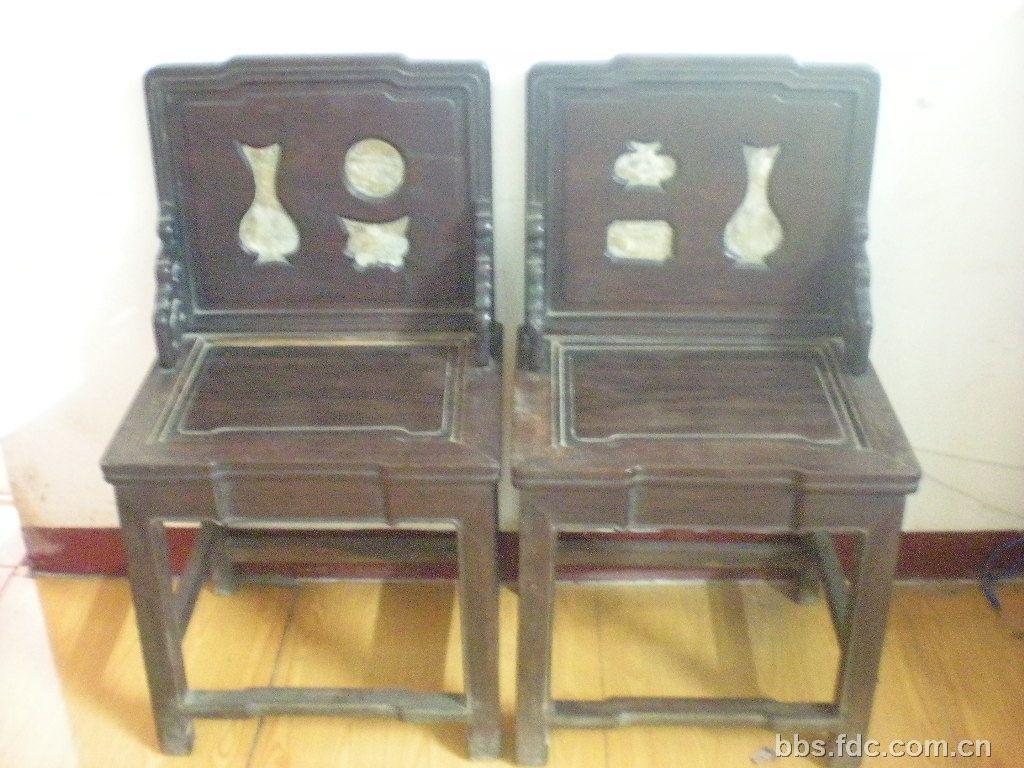 老红木椅子 百年家传的
