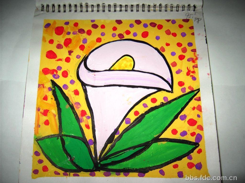 儿童画风景图片展示_儿童画风景相关图片下载 儿童画水果图片展示