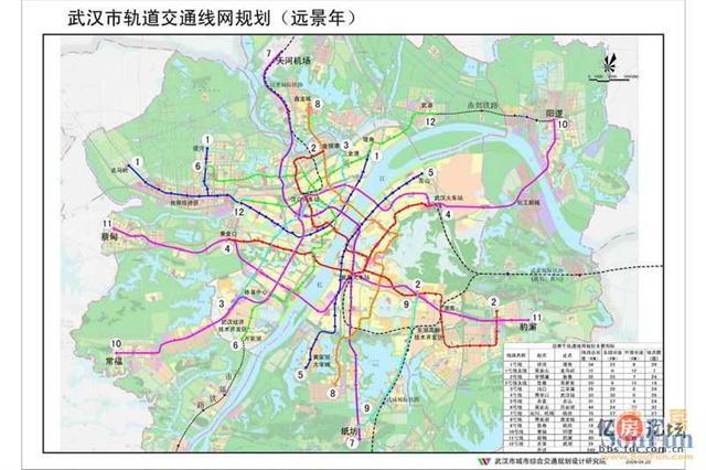 武汉地铁线路图 武汉地铁线路图片