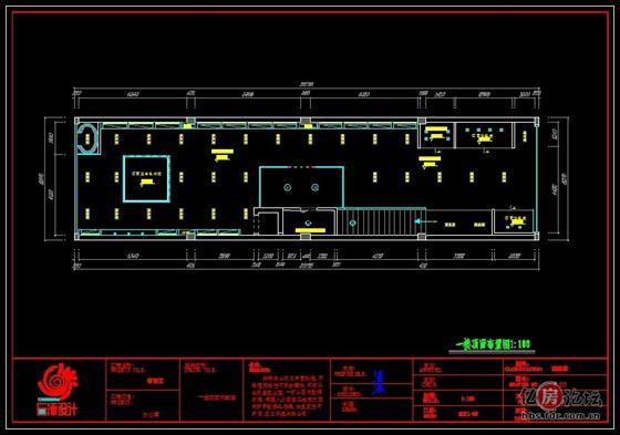 展厅设计平面布置图分享展示