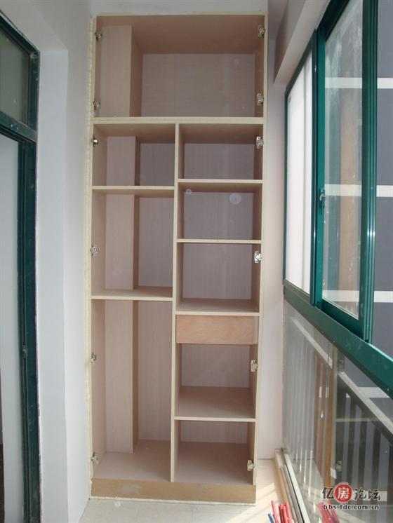 阳台柜子设计展示图片