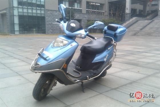 豪爵银巨星摩托车 2000元