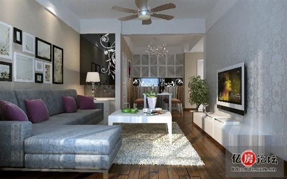 新房装修中石膏顶角线的作用高清图片