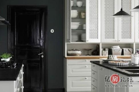 厨房橱窗设计效果图