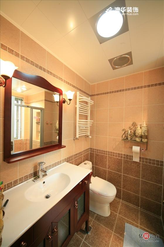 二居室-87㎡-客厅装修效果图;