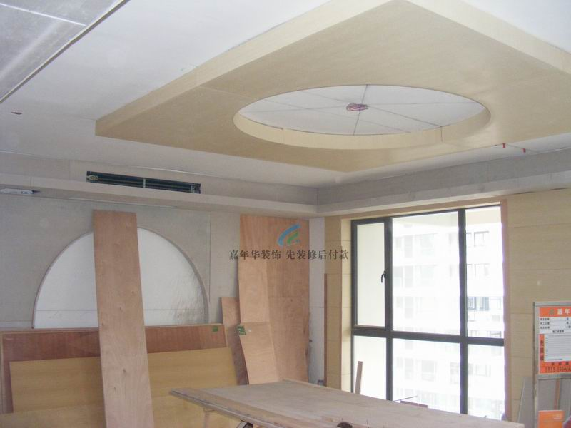 大厅木工吊顶造型图片