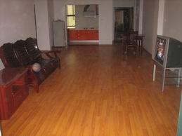 装修房出租,1400元每月房子结构为二室半两厅,客厅40多平方,