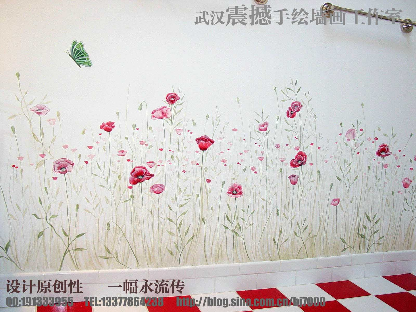 武汉手绘墙画 武汉壁画