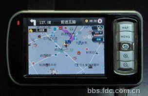 转让闲置多功能GPS导航仪,85成新因换装汽车内置GPS导航系统,