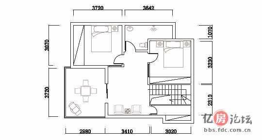 顶层复式楼将装修,征求设计及效果图