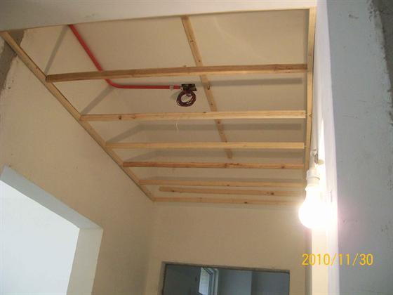 走廊吊顶木龙骨