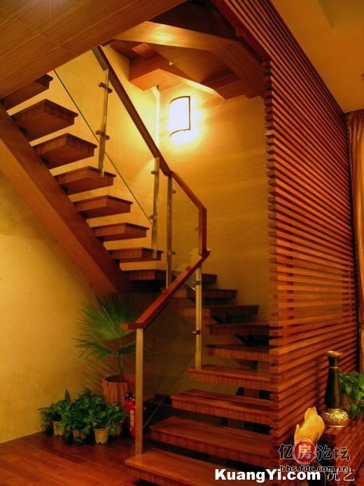 深谷幽兰的阁楼装修之旅 复式楼楼梯图片集 装修日记 亿房