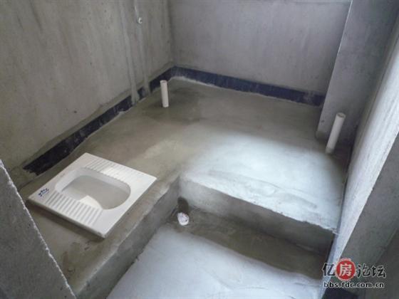 卫生间地面抬高回填
