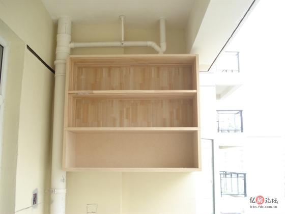 木工阳台书柜效果图大全