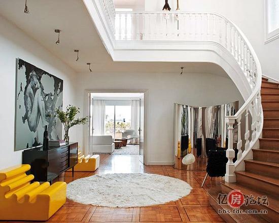 现代感十足的黑白欧式简约家居设计-装修选材