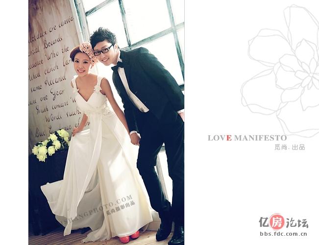 [原创]青岛婚纱摄影工作室 觅尚视觉婚纱摄影韩式实景