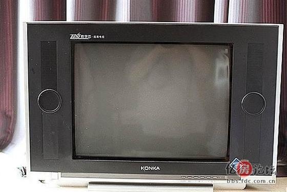 21寸康佳数字芯超薄电视机低价350元转!