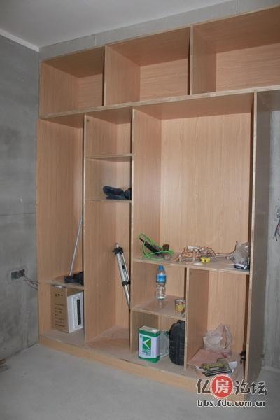 生态板做的柜子