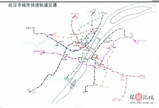 说说地铁和武汉房子的关系