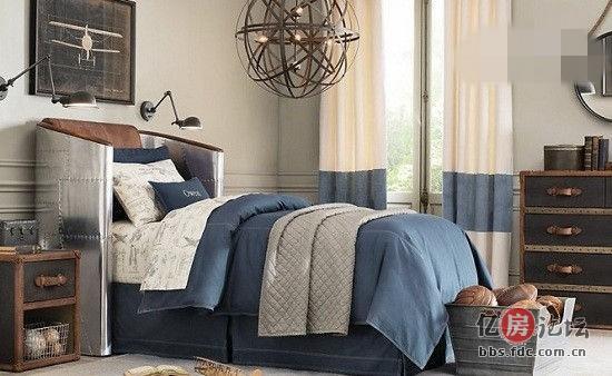 欧式男孩卧室 卧室设计享童年乐趣