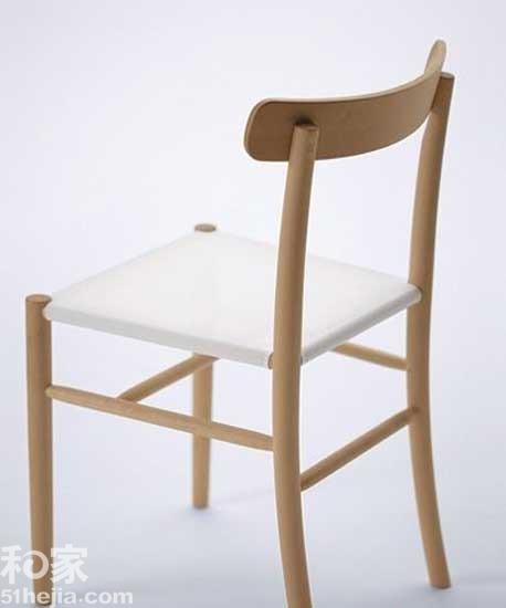 8款有型实木家具 和创意有个约会    圆润的细木棍,构成了整把椅子的