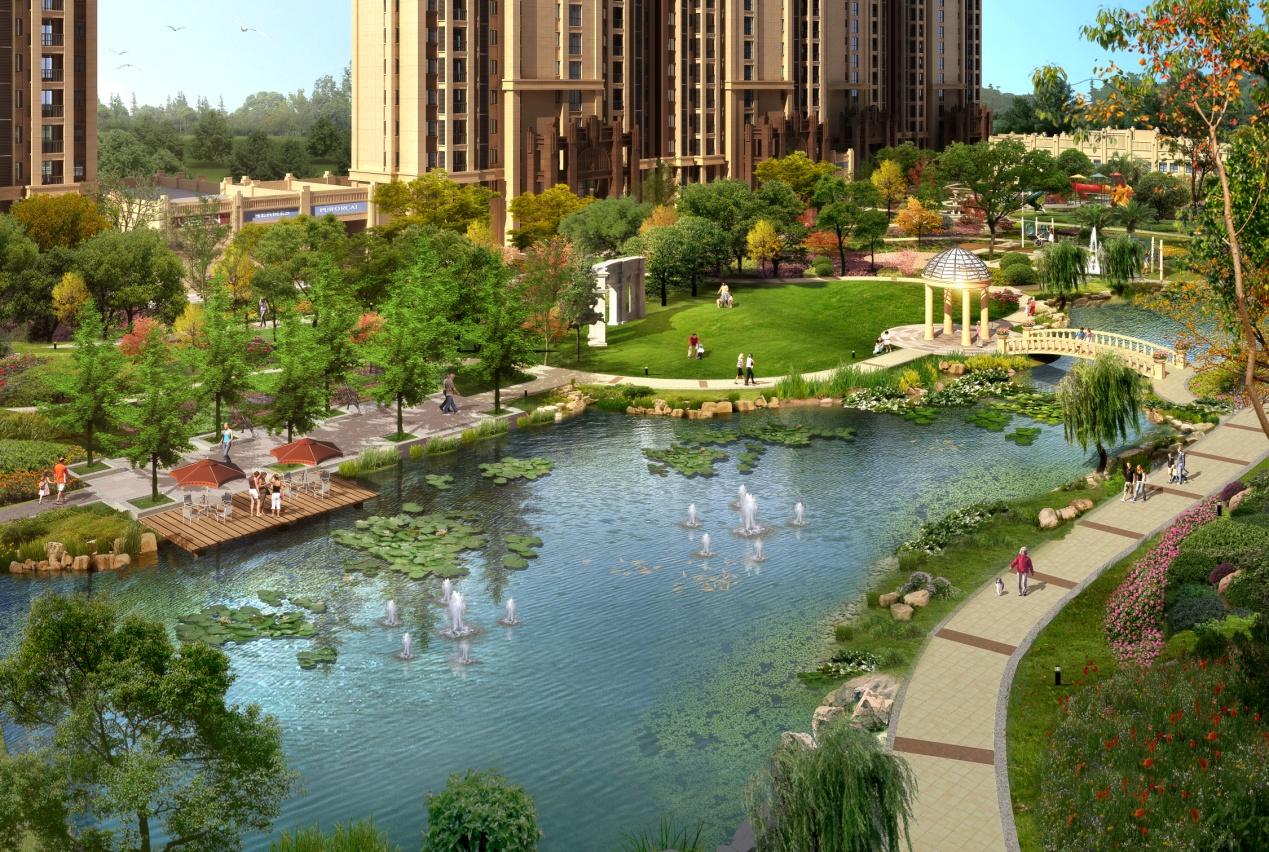 小游园水景设计