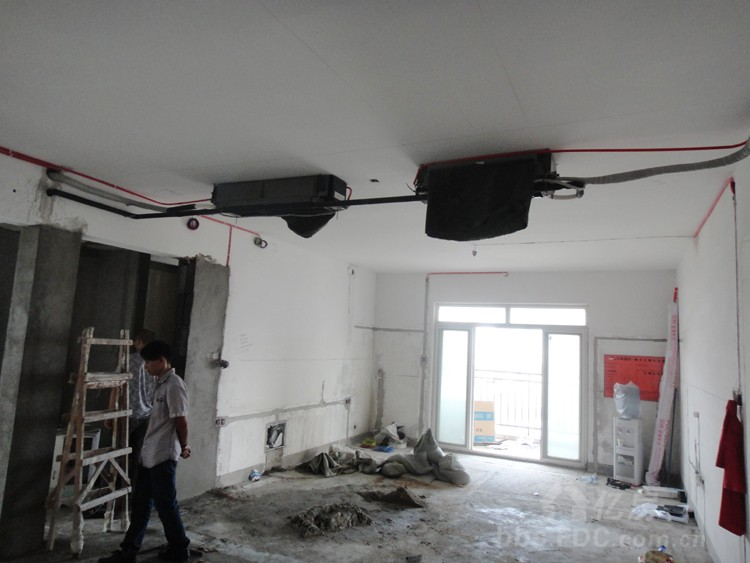 风管机吊顶效果图