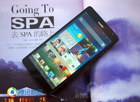 华为6寸大屏手机上市 仅售2588