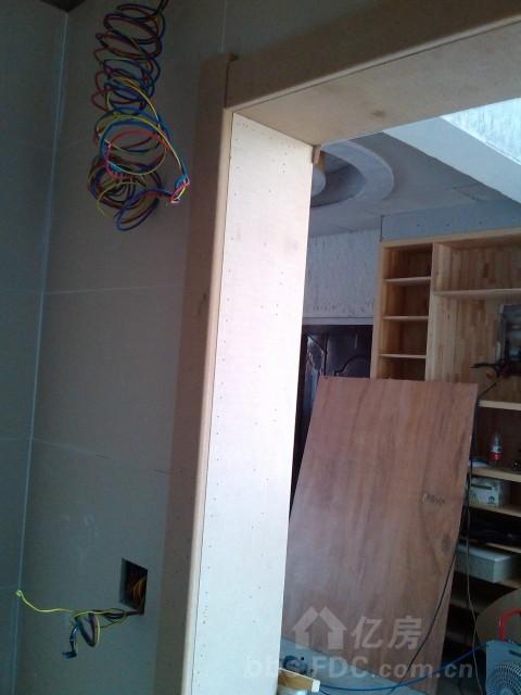 顶)木工打柜子完工