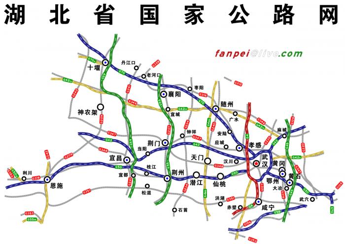 分别是:   G42 上海-成都高速公路   G50 上海-重庆高速公路   G59