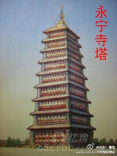 明朝修建的大报恩寺琉璃塔高78.