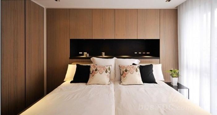 纯水岸 东湖 三居室 120平米 卧室装修效果图.jpg
