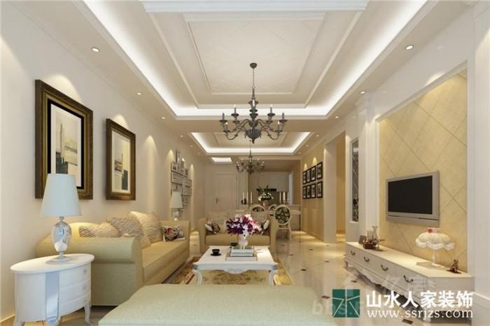 泰然南湖玫瑰湾 三居室 100平米 装修设计