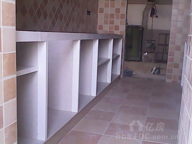 欧式水泥厨房图片