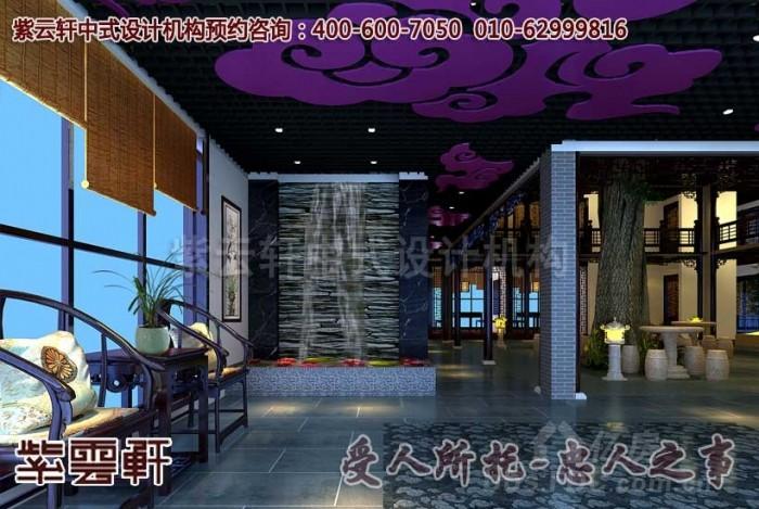 现代风格酒店中式装修设计方案_中国风餐饮会馆