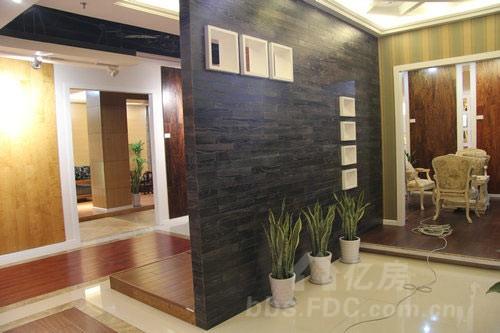 木地板简约电视背景墙设计