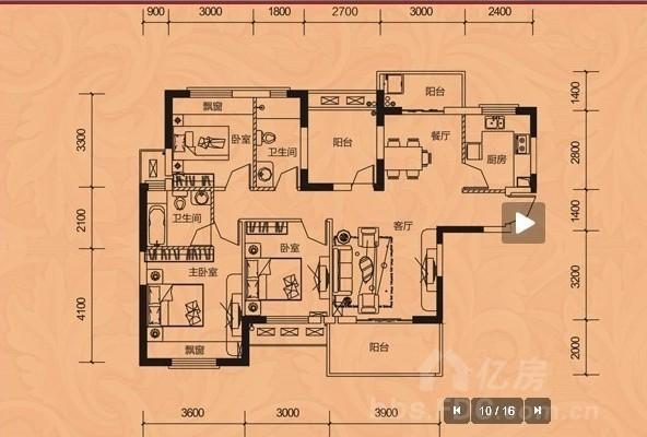 户型 户型图 平面图 592_400