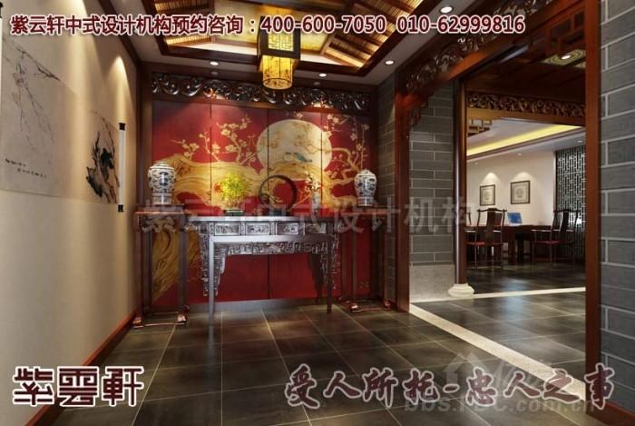 下面就是紫云轩中式设计机构最新推出的杭州国学会馆中式装修设计案例