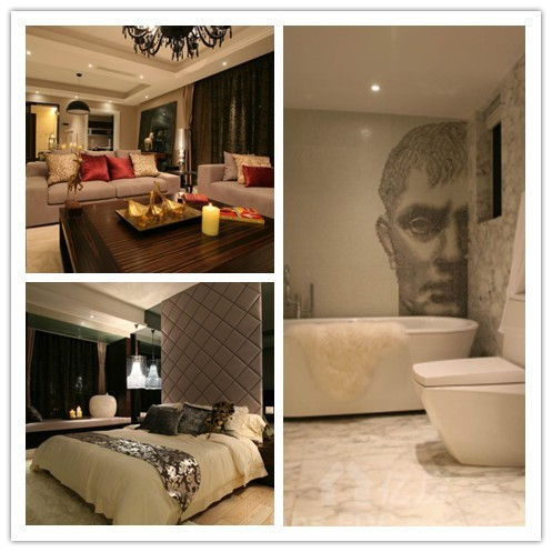 澳华装饰样板房 简式奢华美宅描绘最美的时光,7万装饰 高清图片