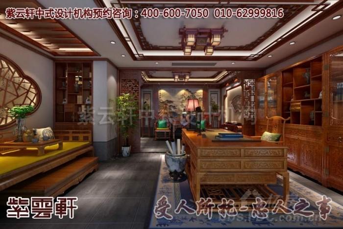 现代中式装修效果图_江苏扬州唐郡别墅设计案例赏析图片