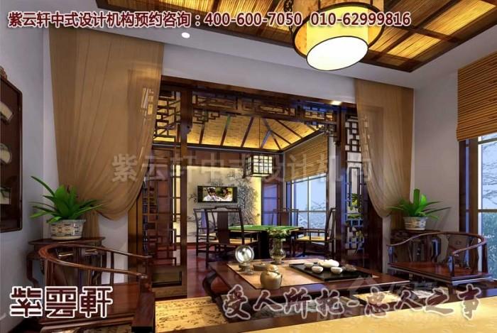中式茶楼设计装修效果图赏析-感受清香四溢