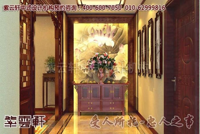 淮安某客户别墅现代中式装修效果图案例