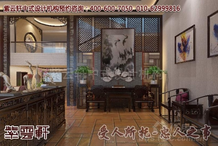 别墅现代中式风格装修效果图赏析 享受禅静幽玄的意境