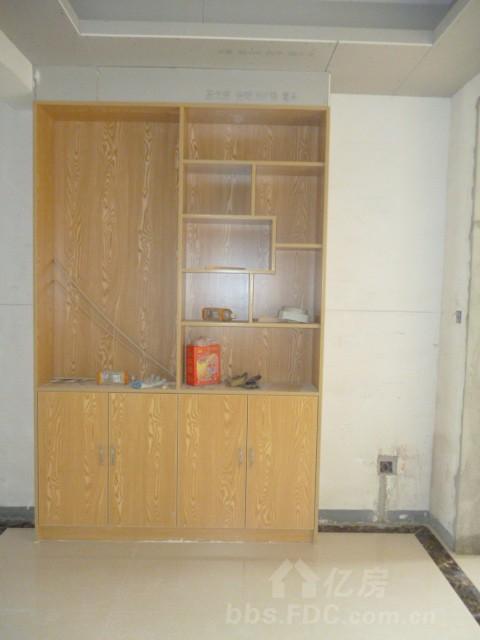 锦绣龙城大量免漆板柜子完工图片-商家优惠-亿房论坛