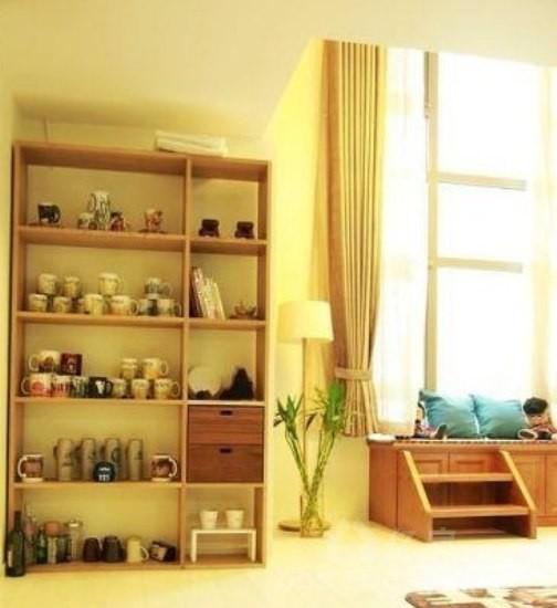 小户型装修 清新日式风格loft