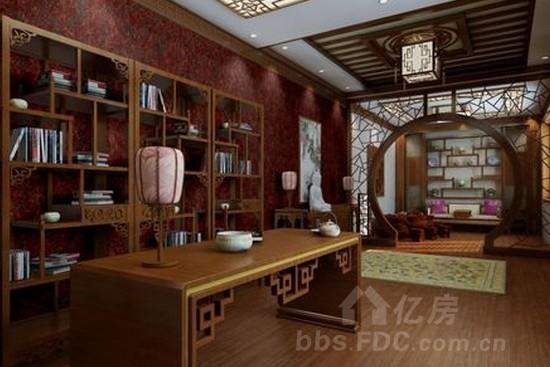 传统中式风格的特色  传统室内设计的装饰手法,是中国人含蓄气质的