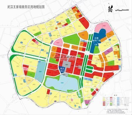 规划结构及用地布局